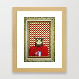 The Owls Are Not What They Seem Framed Art Print
