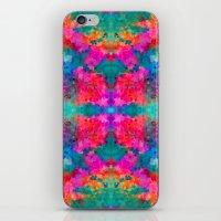 kaleidoscope iPhone & iPod Skins featuring Kaleidoscope by Amy Sia