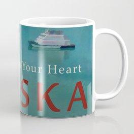 ALASKA Vintage Style Travel Poster Coffee Mug