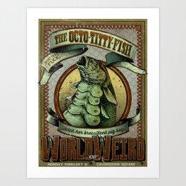 The Octo - Titty Fish Art Print