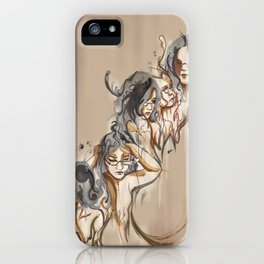 Blended Mind iPhone Case