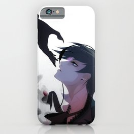 Cross My Heart iPhone Case