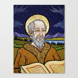 The Old Saint Canvas Print