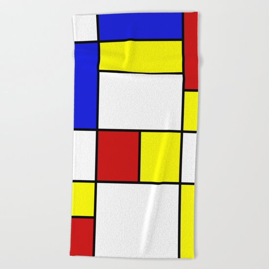 Abstract #756 Beach Towel