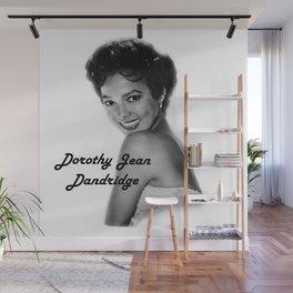 Diva Legacy Dorothy Jean Dandridge Wall Mural