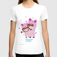 suits T-shirts featuring Piggy-Suits by I love Bubbah