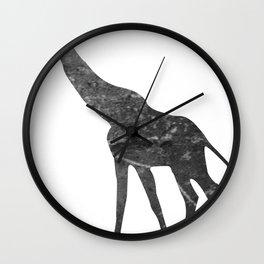 Giraffe (The Living Things Series) Wall Clock