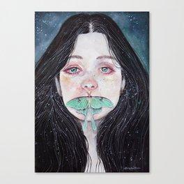 Unsaid truths Canvas Print