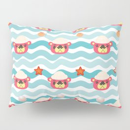 ac cute scallop lover pascal Pillow Sham