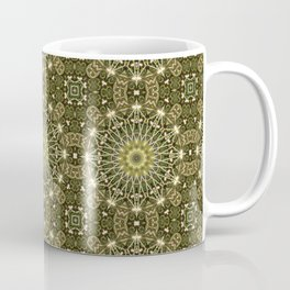 Geometric Forest Mandala Coffee Mug