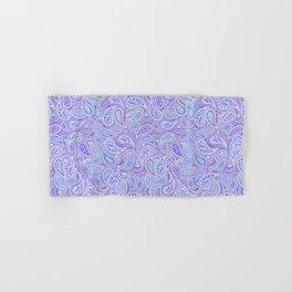 Purple Paisley Hand & Bath Towel