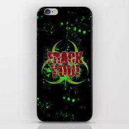 Frack You! iPhone Skin