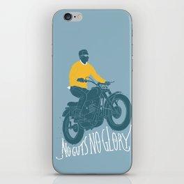 no guts no glory iPhone Skin