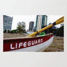 Save Me - English Bay Lifeguard Post Rug