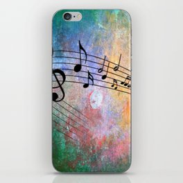 Abstract MUSIC iPhone Skin