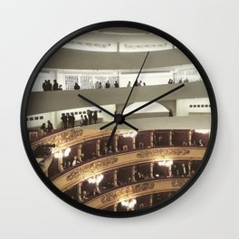 Architecture of Impossible_Round spaces Wall Clock