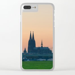 COLOGNE 15 Clear iPhone Case