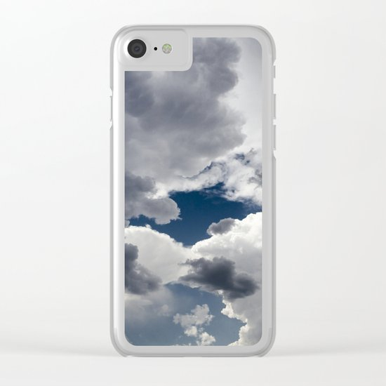 Sky for a dream Clear iPhone Case