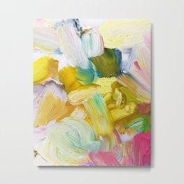 Lots of Feelings Abstract Painting Metal Print