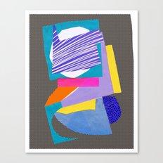Magnetic content Canvas Print
