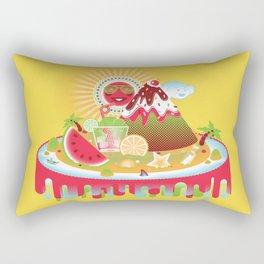 Buenos Dias Mister Sun Rectangular Pillow