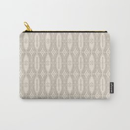 Alfonso Beige Carry-All Pouch