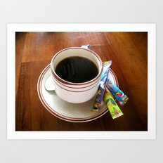 Perfect Cup of Joe Art Print