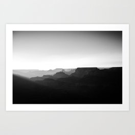 Desert View- North Rim Art Print