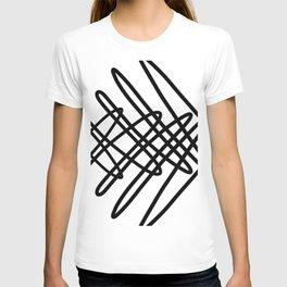 Cross Hatch Squiggle T-shirt