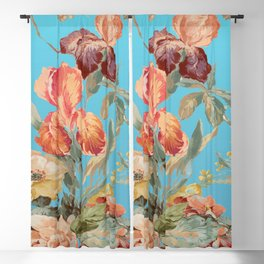 shabby daze Blackout Curtain