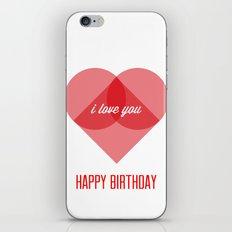 Birthday Wishes for My Dearest Friend iPhone & iPod Skin