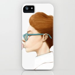 """…see me see me bubbling…"" iPhone Case"