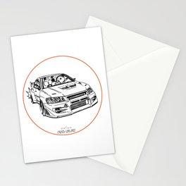 Crazy Car Art 0196 Stationery Cards