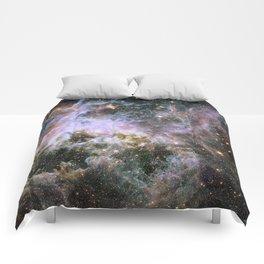 Cosmic Tarantula Nebula (infrared view) Comforters