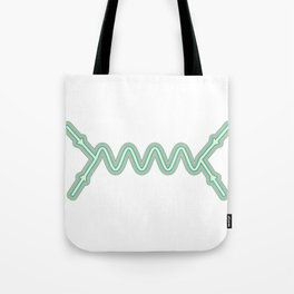 Retro Feynman Diagram Tote Bag