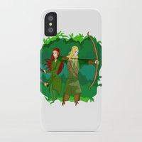 legolas iPhone & iPod Cases featuring Legolas by hikary