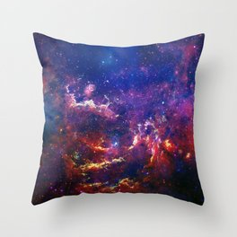 New View of Milky Way Throw Pillow