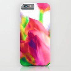 Harborough Tulips - Watercolour Paiting iPhone 6s Slim Case