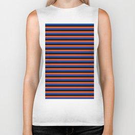 Color Stripe _001 Biker Tank