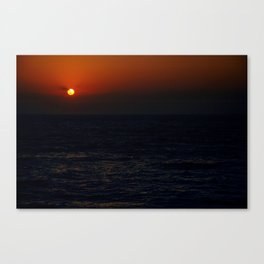 Sunrise Over The South China Sea Canvas Print