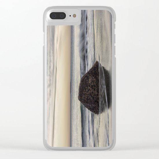 Waves at the beach Clear iPhone Case