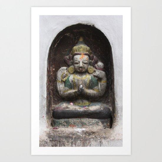 Bodhinath Shrine - 3 of 6 Art Print
