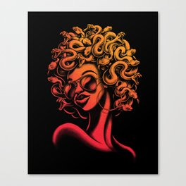 Funky Medusa II Canvas Print