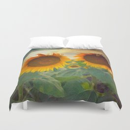 favorite sunset view Duvet Cover