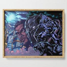 Black Panther: Wakandan Warrior Serving Tray