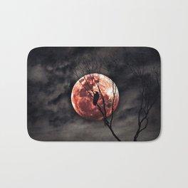 Red Moon Rising - Australia Bath Mat