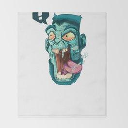 Zombie. Throw Blanket