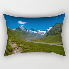 View of the glacier Rectangular Pillow