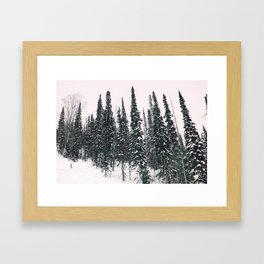 Winter day 11 Framed Art Print