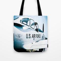 US Air Force Airplane Tote Bag